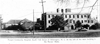 John Walcott Kay founded Community Hospital in Wilmington in 1920 in collaboration with six other physicians and community leaders. Courtesy of the New Hanover County Public Library
